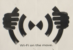 Audi in-car wifi logo